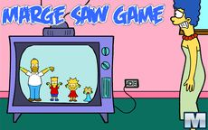 Marge Saw Game Minigamers Com
